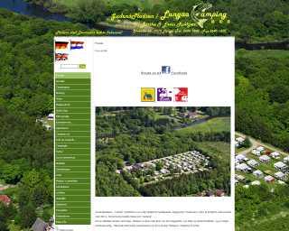 Billedet linker til Langå Campings hjemmeside