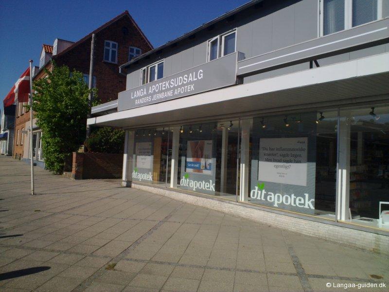 Langå apotek i Bredgade